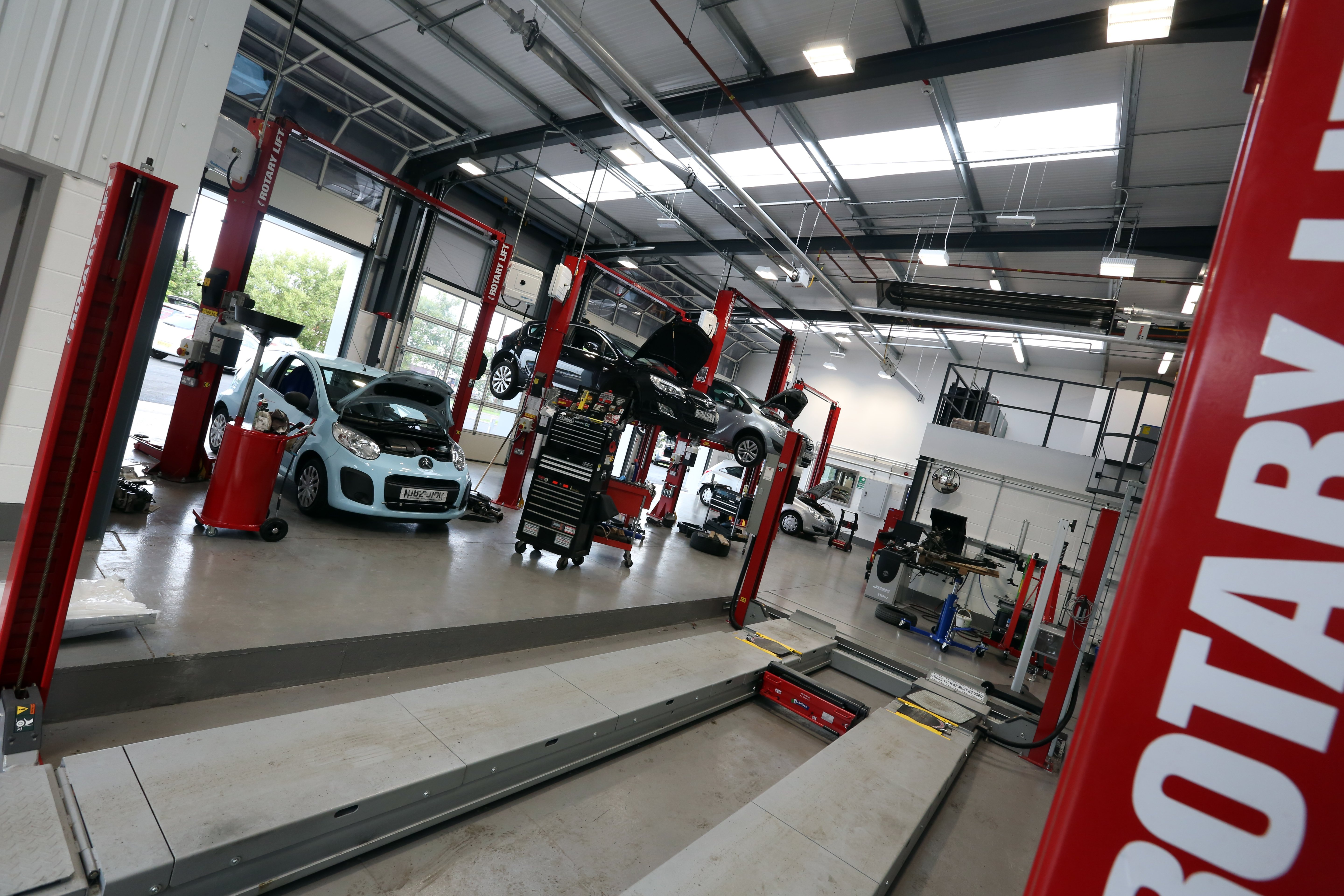 Auto Garage Tools For Sale: WE HELPED BRING DAVIDSONS NEWEST VAUXHALL DEALERSHIP TO