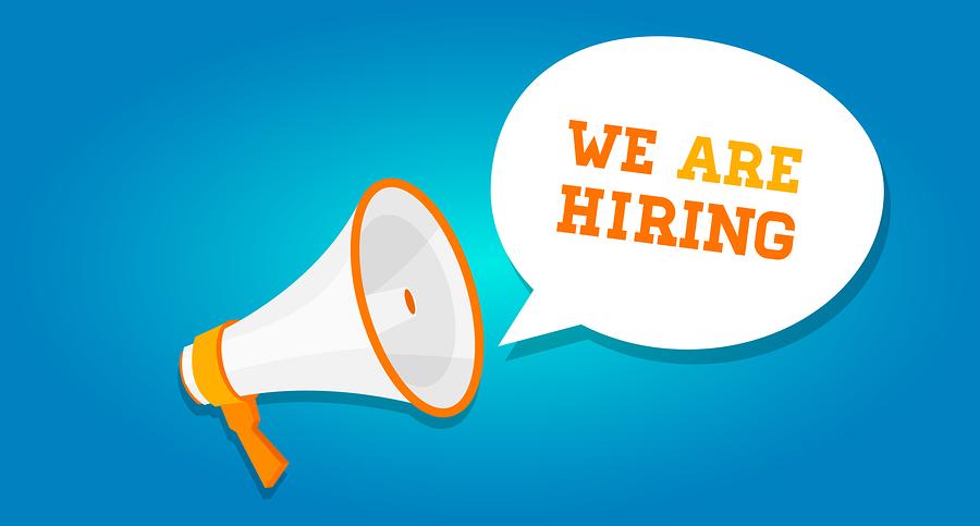 we are hiring vacancy open recruitment